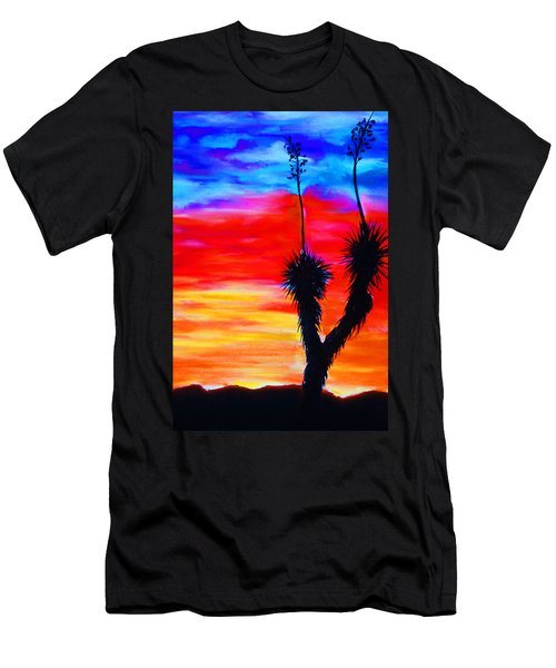 Paso Del Norte Sunset 1 Men's T-Shirt (Athletic Fit)