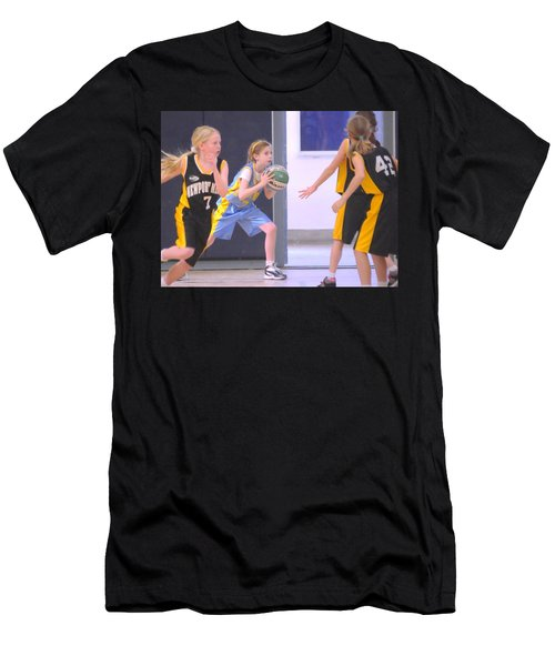Pass The Ball Men's T-Shirt (Athletic Fit)
