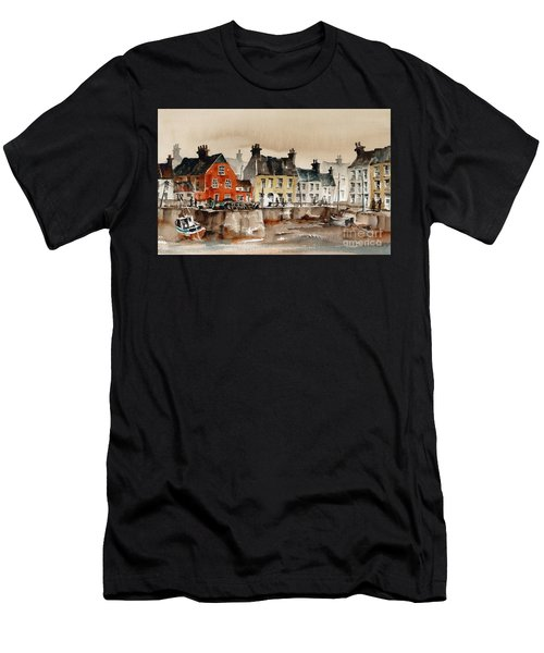 Passage East Harbour, Waterford Men's T-Shirt (Athletic Fit)