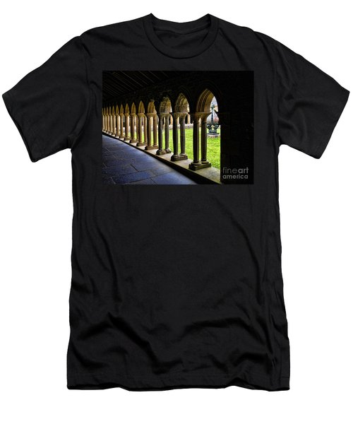 Men's T-Shirt (Slim Fit) featuring the photograph Passage To The Ancient by Roberta Byram