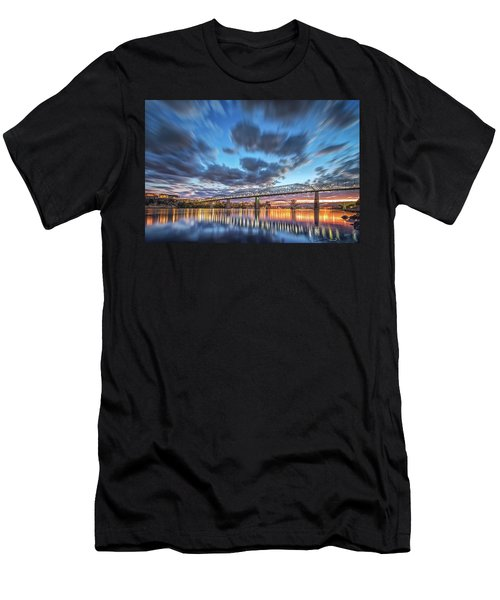 Passing Clouds Above Chattanooga Men's T-Shirt (Athletic Fit)