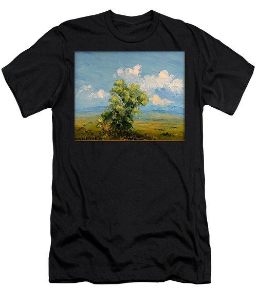 Passing Clouds Men's T-Shirt (Athletic Fit)