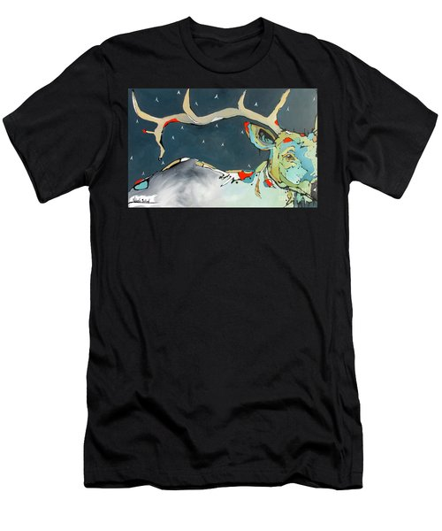 Passing In The Night Men's T-Shirt (Athletic Fit)