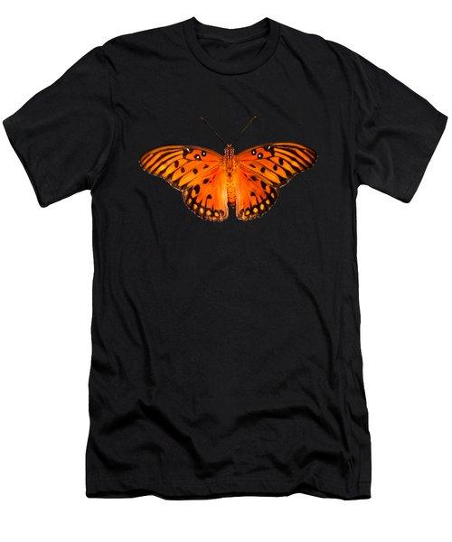 Passion Butterfly Closeup Men's T-Shirt (Athletic Fit)