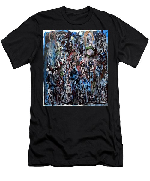 Past Life Trauma Men's T-Shirt (Athletic Fit)