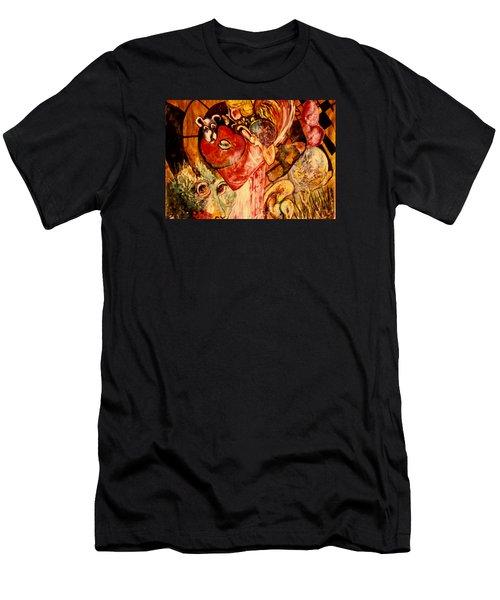 Past Lives Men's T-Shirt (Athletic Fit)