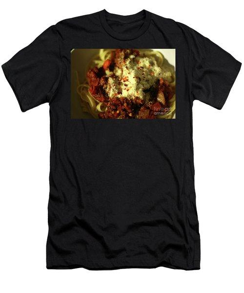 Pasta Men's T-Shirt (Athletic Fit)