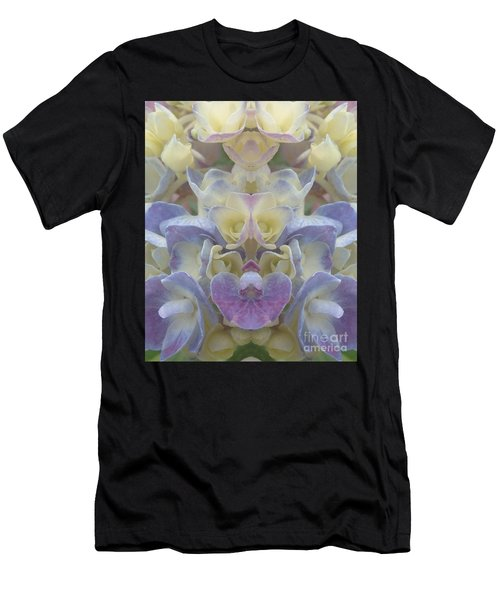 Pastel Blooms Men's T-Shirt (Athletic Fit)