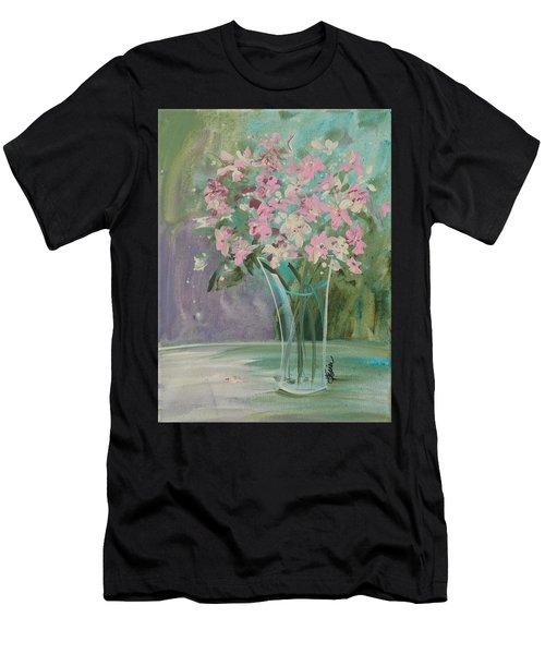 Pastel Blooms Men's T-Shirt (Athletic Fit)