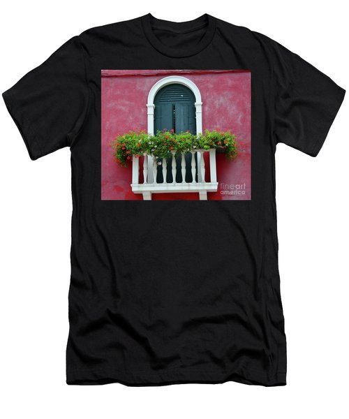 Pastel Colors Of Burano  Men's T-Shirt (Athletic Fit)