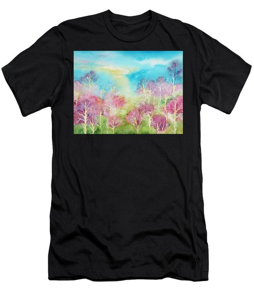 Pastel Spring Men's T-Shirt (Athletic Fit)
