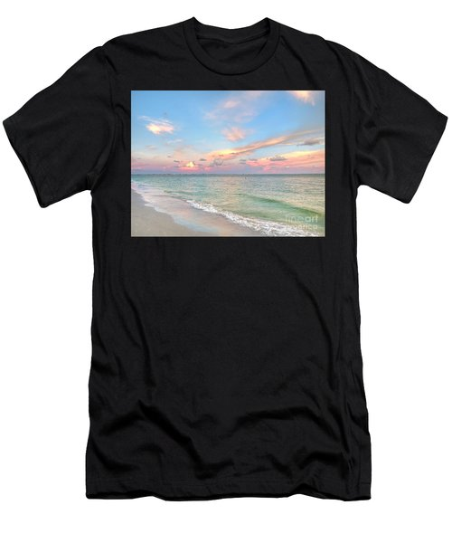 Pastel Sunset On Sanibel Island Men's T-Shirt (Athletic Fit)