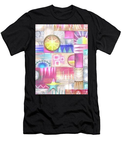 Pastel Symmetry Men's T-Shirt (Athletic Fit)