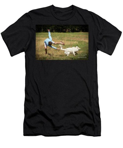 Pasture Ballet Human Interest Art By Kaylyn Franks   Men's T-Shirt (Athletic Fit)