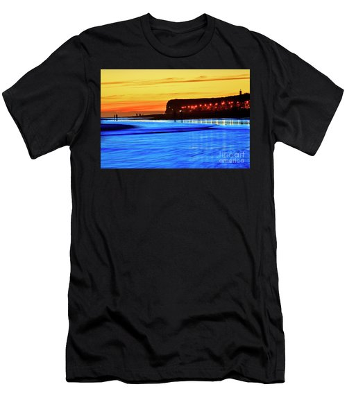Patagonia Beach. Men's T-Shirt (Athletic Fit)