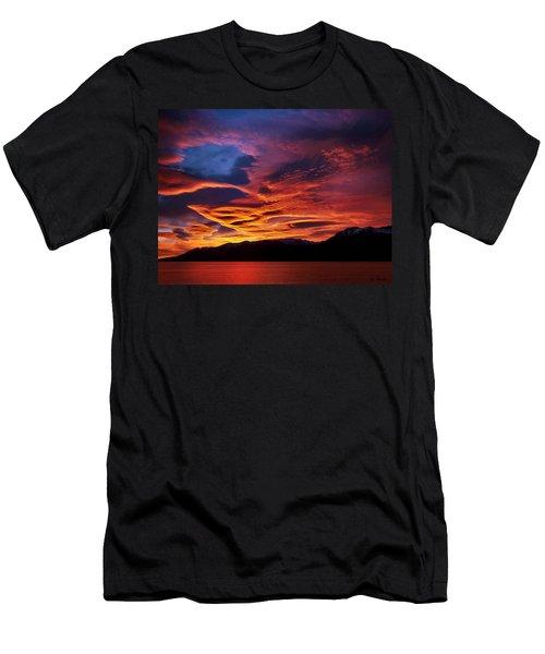 Patagonian Sunrise Men's T-Shirt (Athletic Fit)
