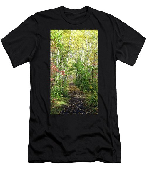 Path In The Woods 3 Men's T-Shirt (Athletic Fit)