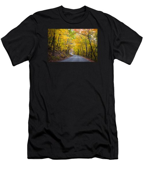 Path Of Many Colors Men's T-Shirt (Athletic Fit)