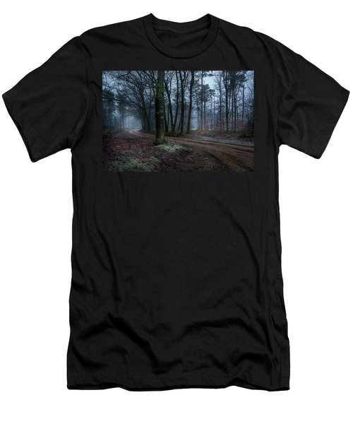Path Through The Forrest Men's T-Shirt (Athletic Fit)