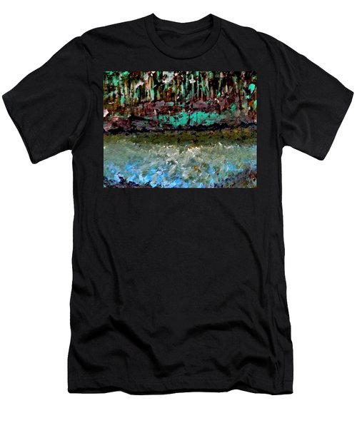 Pathless Woods Men's T-Shirt (Athletic Fit)