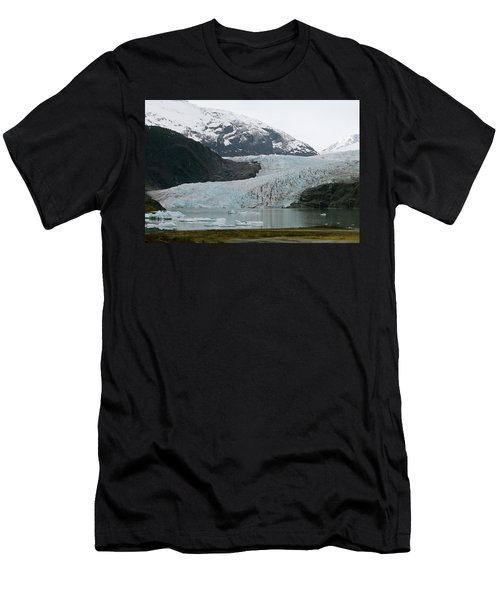 Pathway To An Icy Wonderland Men's T-Shirt (Athletic Fit)