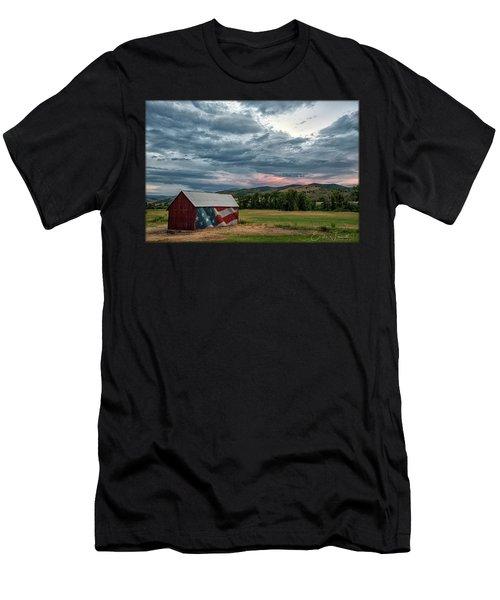 Patriotic Men's T-Shirt (Athletic Fit)