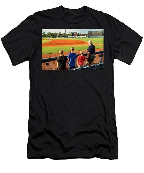 Patriotism Is Taught Men's T-Shirt (Athletic Fit)