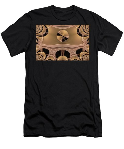 Men's T-Shirt (Slim Fit) featuring the digital art Pattern by Ron Bissett