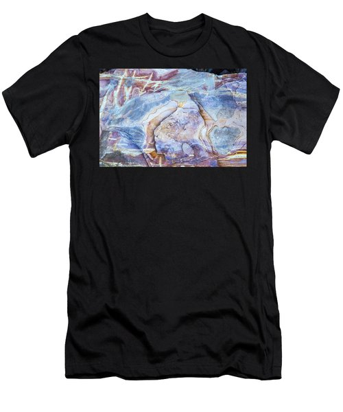 Patterns In Rock 2 Men's T-Shirt (Athletic Fit)
