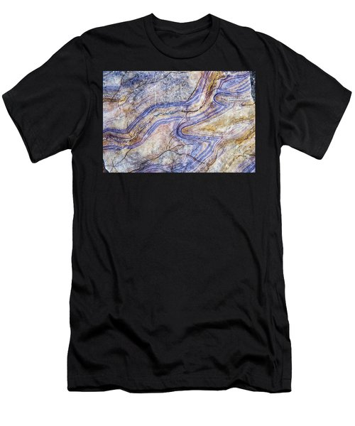 Patterns In Rock 5 Men's T-Shirt (Athletic Fit)