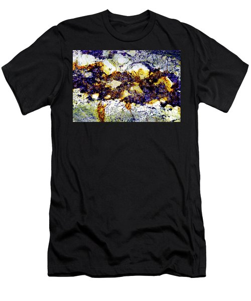 Men's T-Shirt (Slim Fit) featuring the photograph Patterns In Stone - 212 by Paul W Faust - Impressions of Light