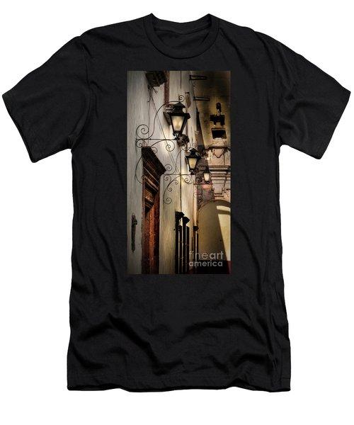 Patterns Of Lines Men's T-Shirt (Athletic Fit)