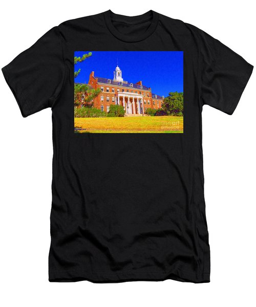 Patterson Hall  Men's T-Shirt (Athletic Fit)