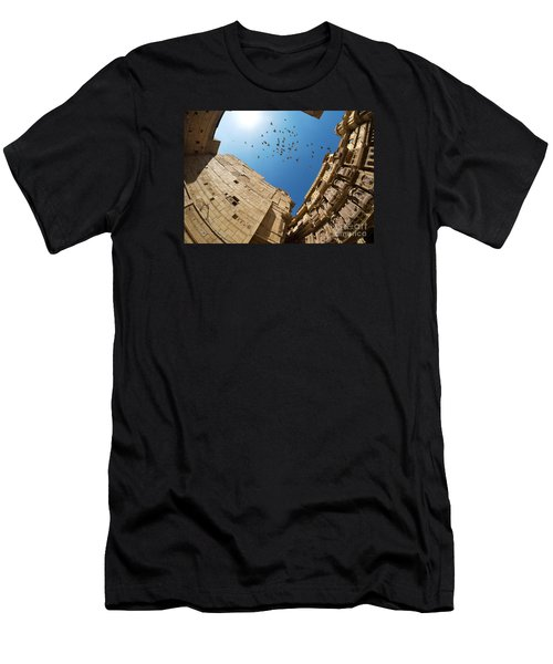 Men's T-Shirt (Athletic Fit) featuring the photograph Patwon Ki Haveli by Yew Kwang