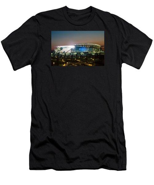Paul Brown Stadium Men's T-Shirt (Slim Fit) by Scott Meyer