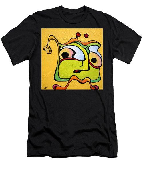 Paul My Finger Men's T-Shirt (Athletic Fit)