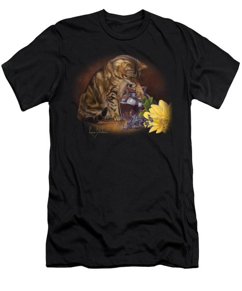 Paw In The Vase Men's T-Shirt (Athletic Fit)
