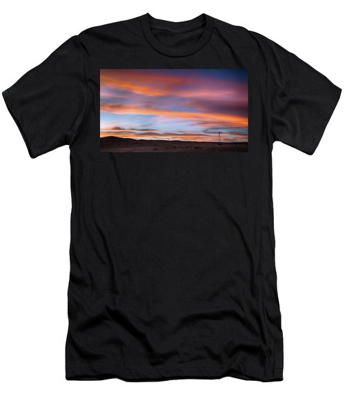 Pawnee Sunset Men's T-Shirt (Athletic Fit)