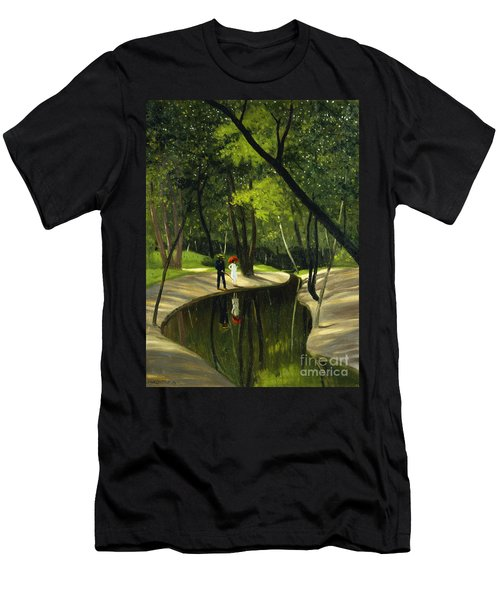 Paysage Du Boulogne, 1919  Men's T-Shirt (Athletic Fit)
