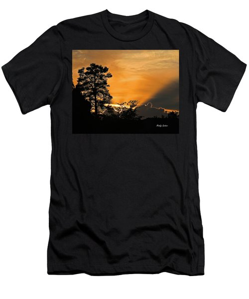 Payson Sunset Men's T-Shirt (Athletic Fit)