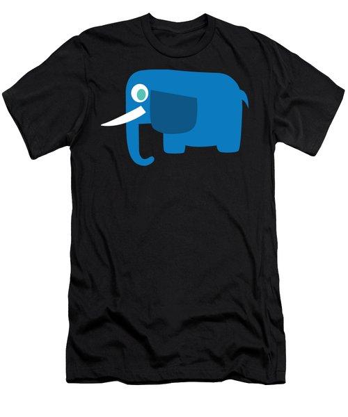 Pbs Kids Elephant Men's T-Shirt (Athletic Fit)