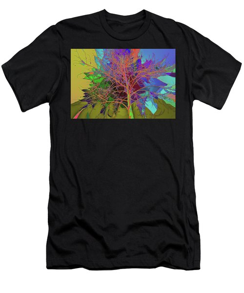 P C C Elm In The Wait Of Bloom Men's T-Shirt (Athletic Fit)