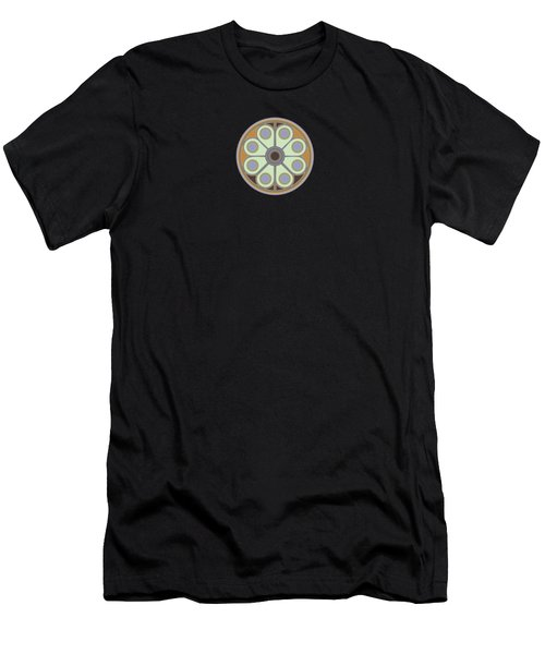 Peace Flower Men's T-Shirt (Athletic Fit)