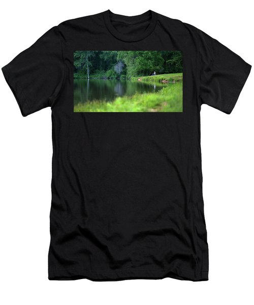Men's T-Shirt (Athletic Fit) featuring the photograph Peace by Lori Coleman