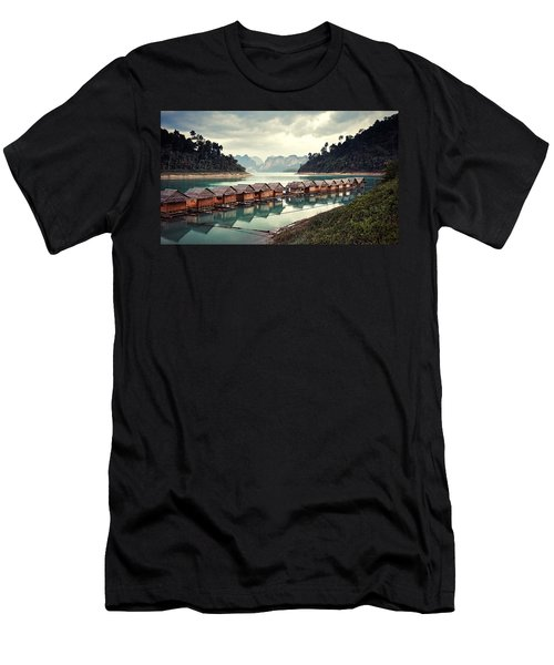 Peace On The Lake Men's T-Shirt (Athletic Fit)