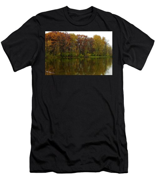 Peace Reflected Men's T-Shirt (Athletic Fit)