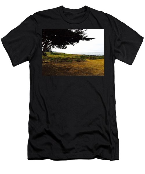 Peaceful Coast Men's T-Shirt (Athletic Fit)