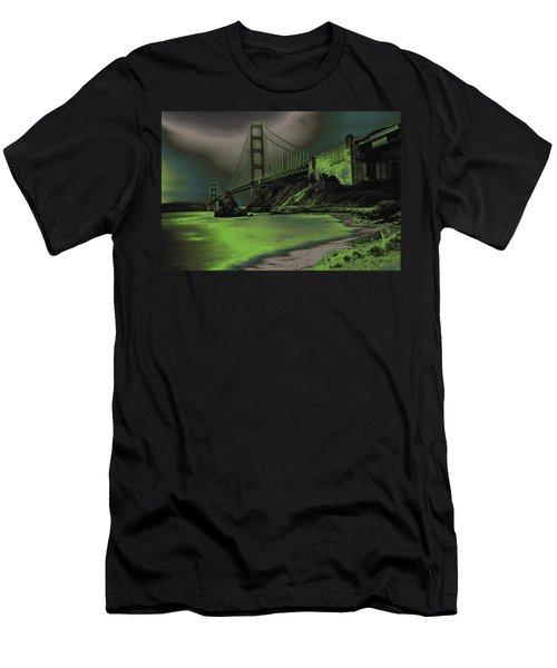 Peaceful Eerie Feeling Men's T-Shirt (Athletic Fit)