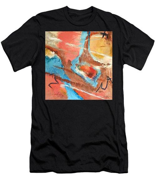 Peaceful Journey Men's T-Shirt (Athletic Fit)