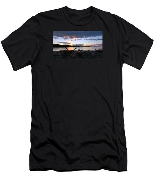 Peaceful Moments At Bar Harbor Men's T-Shirt (Athletic Fit)